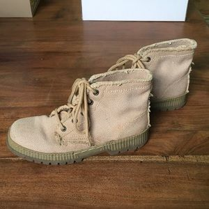 New Canvas Greatland Boots